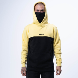Худи Molotov Mask Black Yellow 2.0