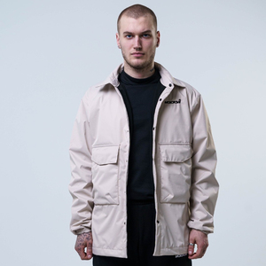 Куртка Molotov Coach Jacket бежевая