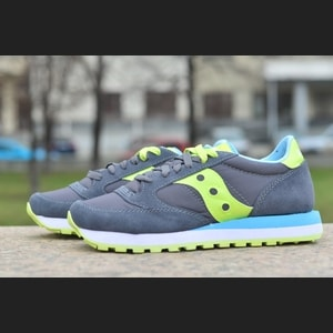 Saucony Jazz O Charcoal/Light Green